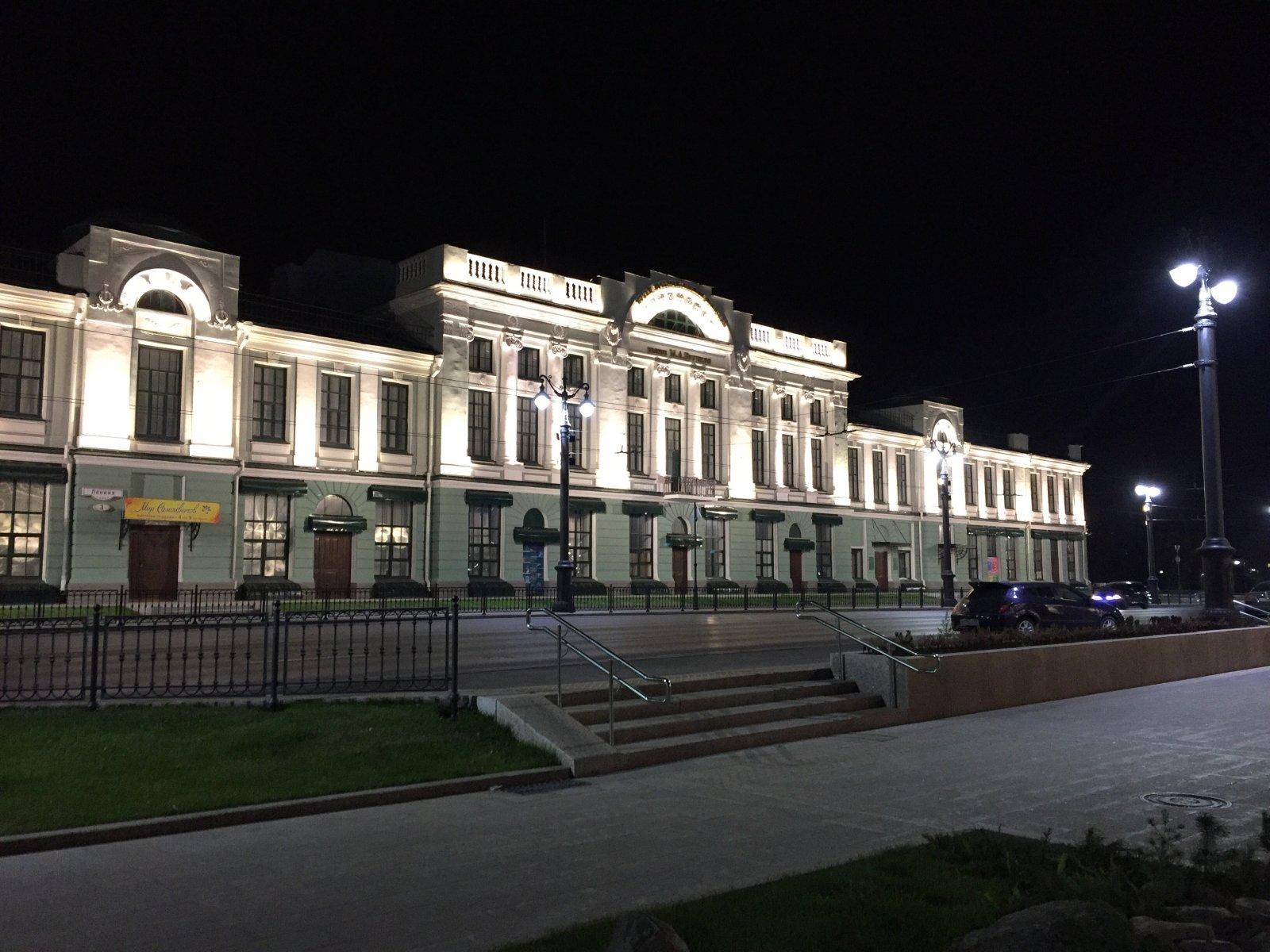 Картинка музей врубеля в омске