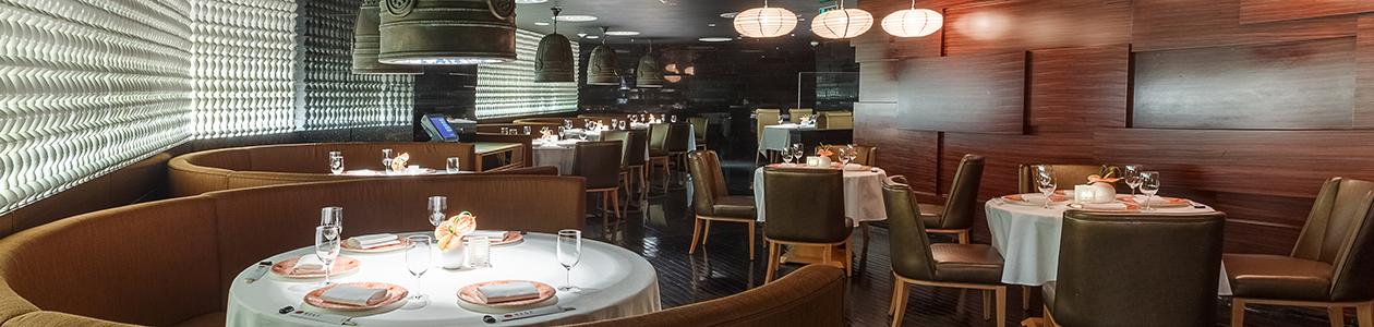 Ресторан Megumi. Москва Новинский б-р, 8, стр. 2, Lotte Hotel Moscow, –1 этаж