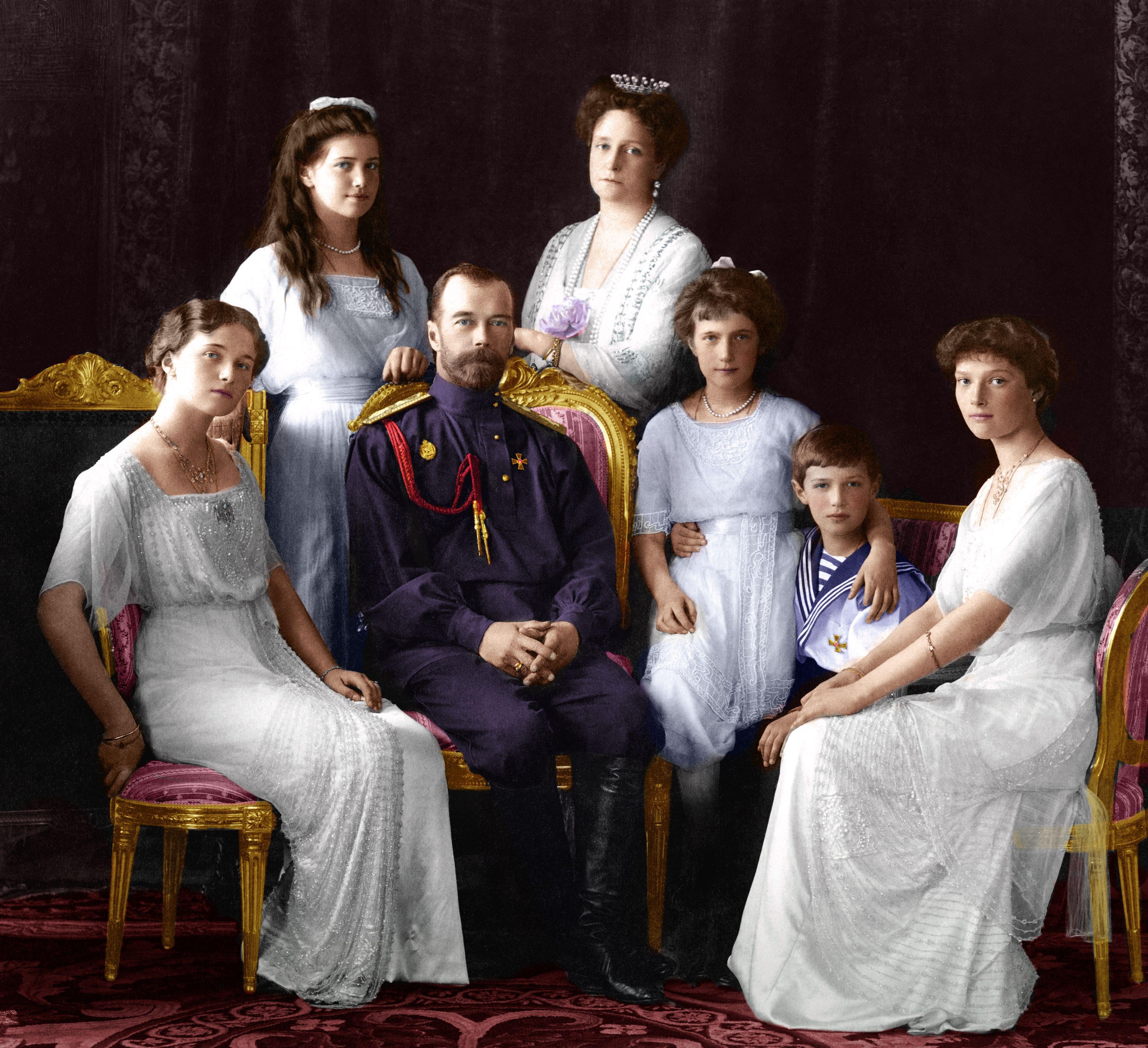 фотографии семьи романовых последние содержит